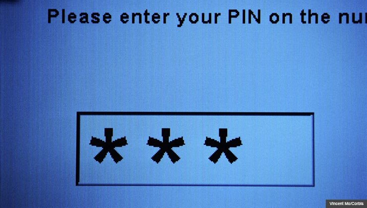 Tips for how to create a memorable PIN code that's not easily guessed by crooks. For Scam Alert.