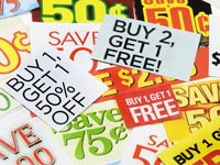 Clipped coupons scam alert