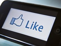 Protect yourself from scams on Facebook - Facebook Like Button on an iPhone4