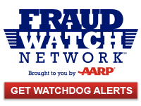 AARP Fraud Watch Network logo