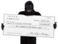 lottery sweepstakes contest lottery scams fraud internet email gorilla suit fake check winning winnings win winner (iStockphoto)
