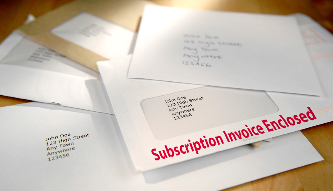 Scams to Avoid - Subscriptions