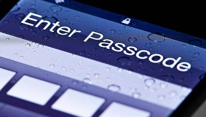 Introduzca un código de acceso en su teléfono celular, estafas en sus aparatos electrónicos