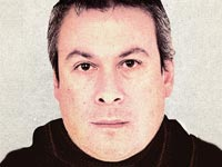 Scam Artist Mugshots Enhanced, Mangiafico Jr (Illustration, Sean McCabe, Courtesy Texas State Securities Board)