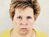 Scam Artist Mugshots Enhanced, Tracy Vasseur (Illustration: Sean McCabe, Courtesy Colorado Attorney General)