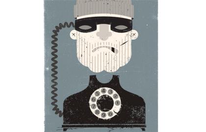AARP estafa telefónica ilustración