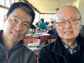 Richard Lui con su padre - Cuidado con las nuevas estafas