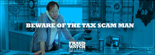 Beware of the Tax Scam Man