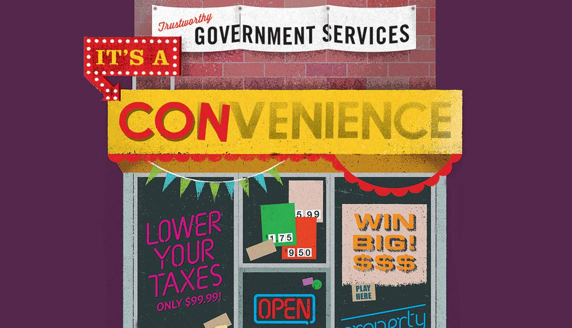 Scam Alert - Government services cons