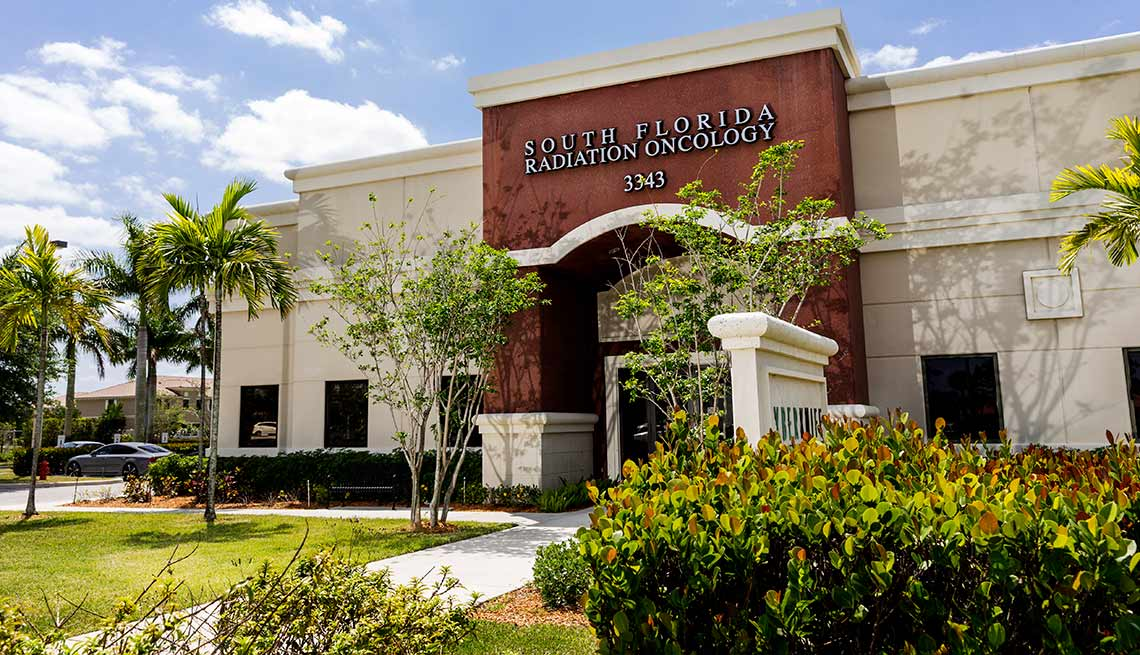 Exterior of South Florida Radiation Oncology