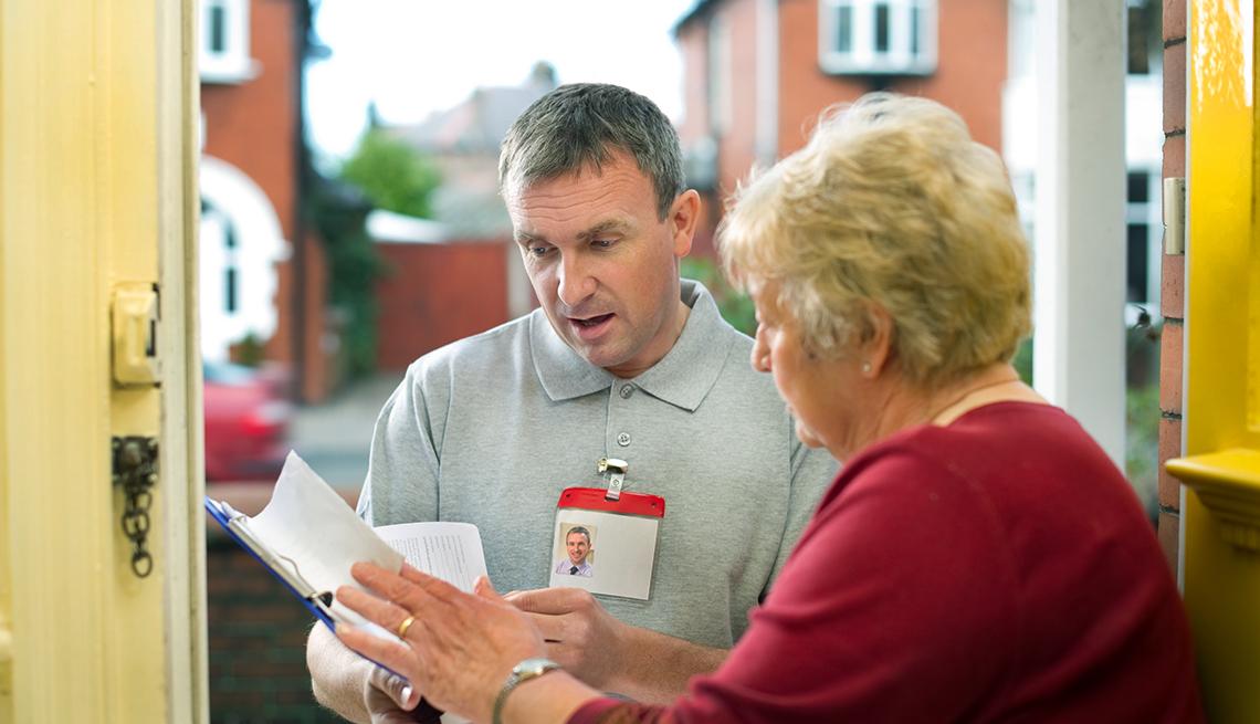 door to door sales and election scams to avoid aarp On door to door sales