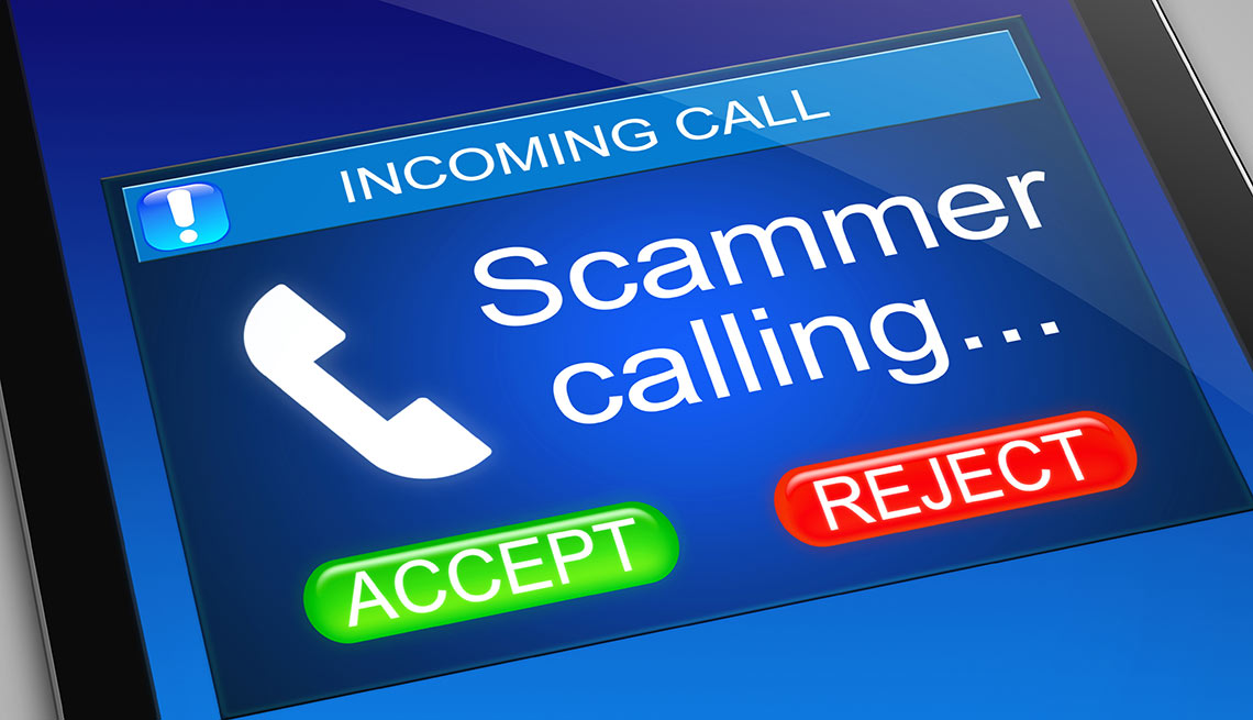 scam trends, scammer calling