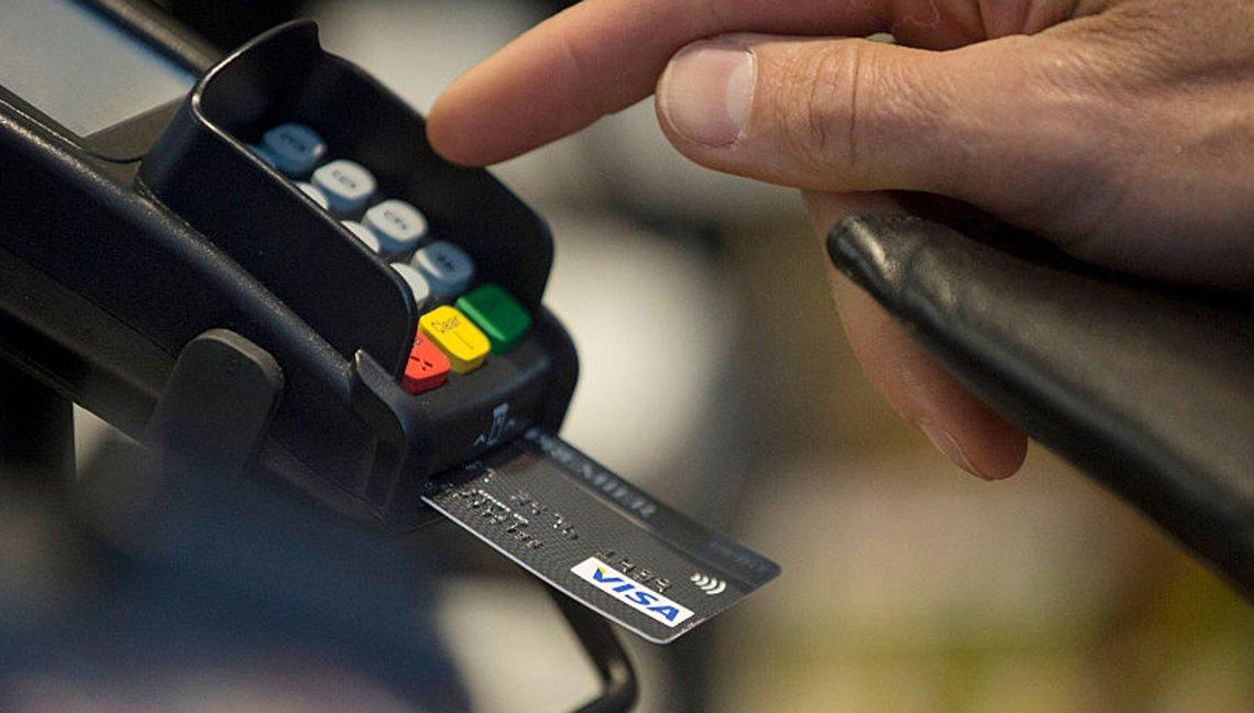 Sistema de tarjeta de crédito con chip