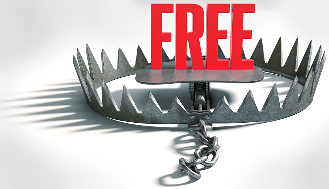 Go freebies scams