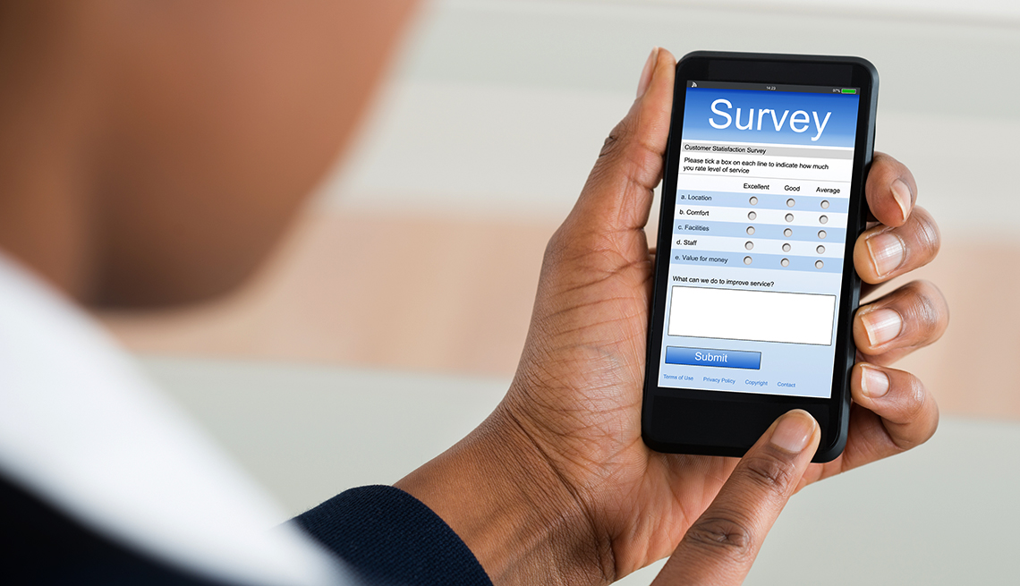 item 8 of Gallery image - Holiday scams online surveys