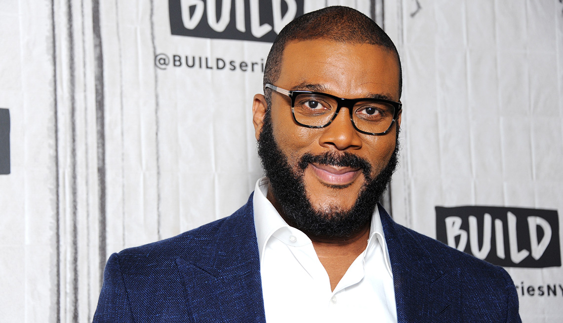 Tyler Perry on a red carpet