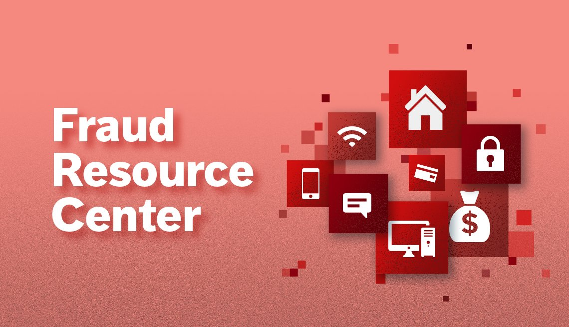 Fraud Resource Center red promo
