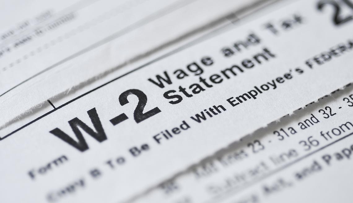 W2 income tax form