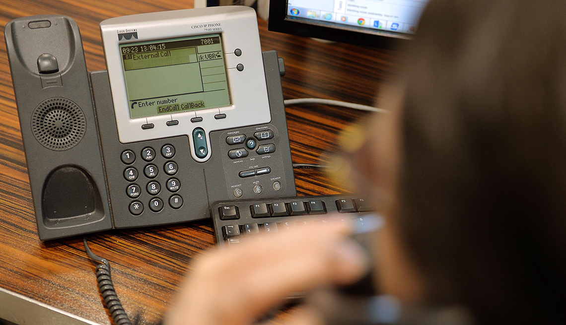 Older people are targeted everyday by telephone scams which continue to rise.
