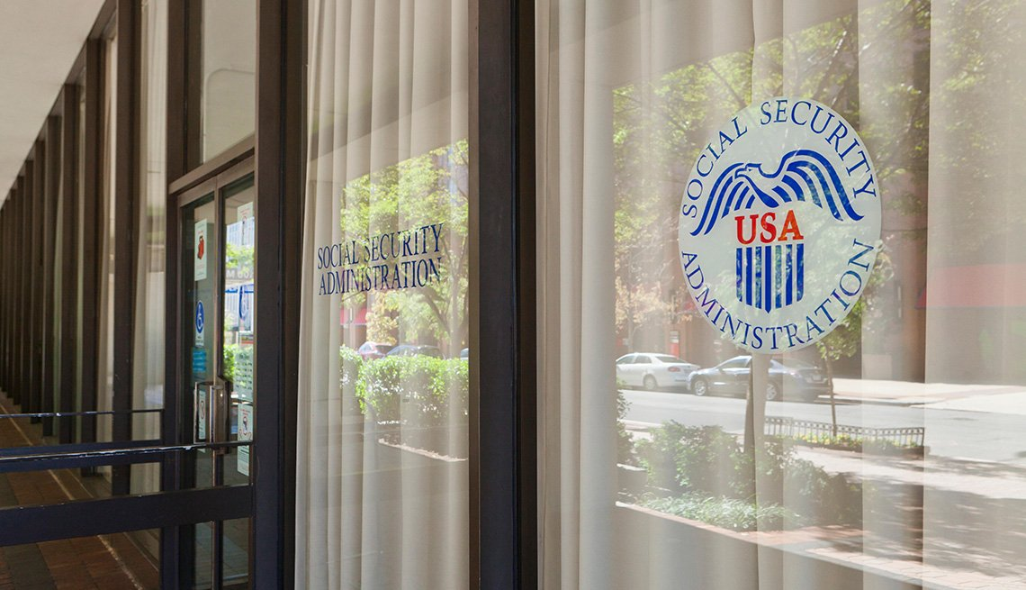 US Social Security Administration headquarters - Washington, DC USA