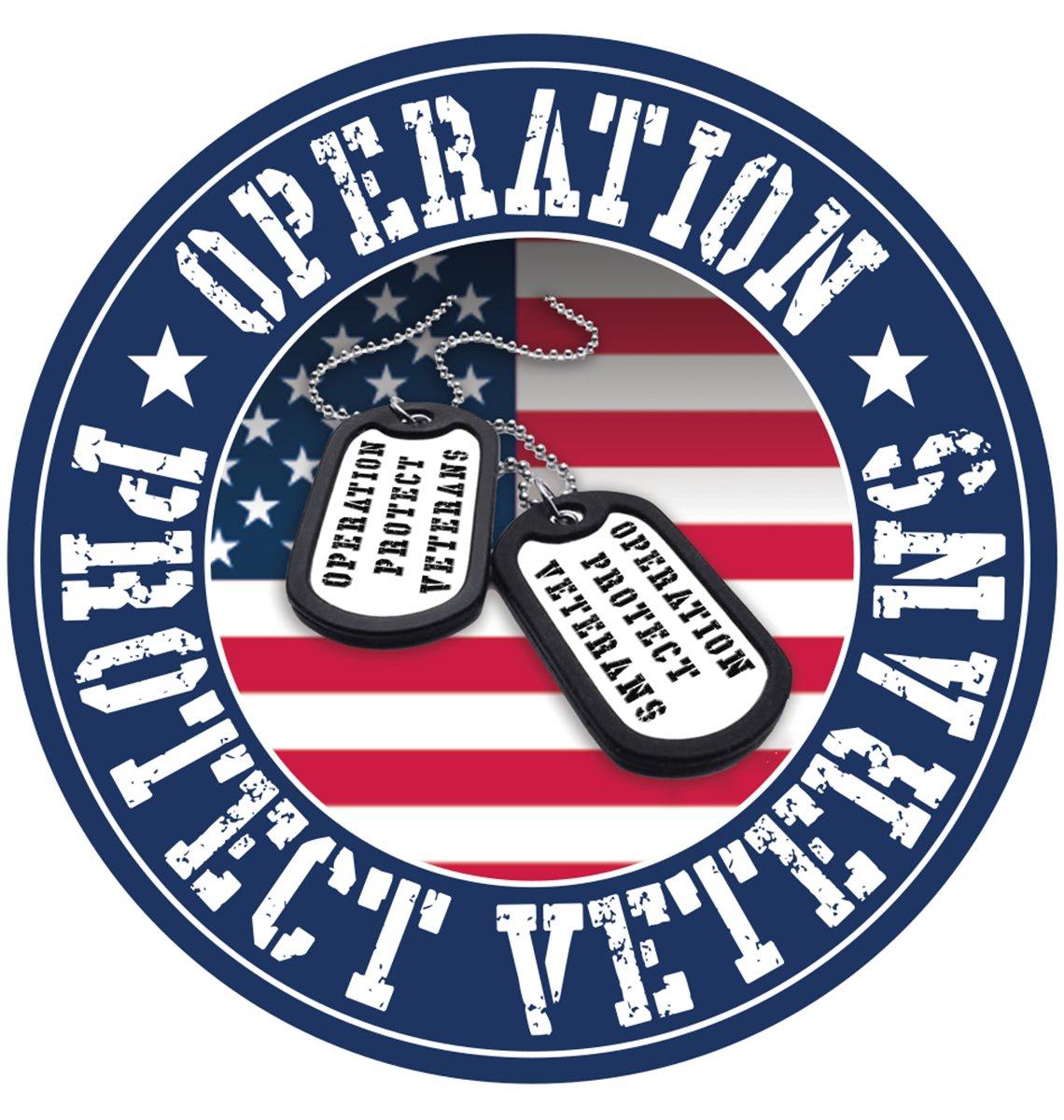 Operation Protect Veterans badge