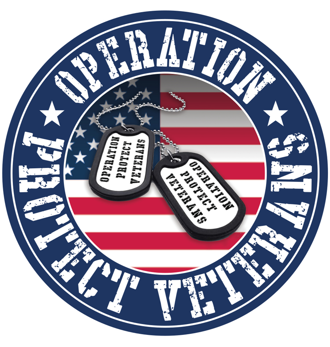 Operation Protect Veterans badge