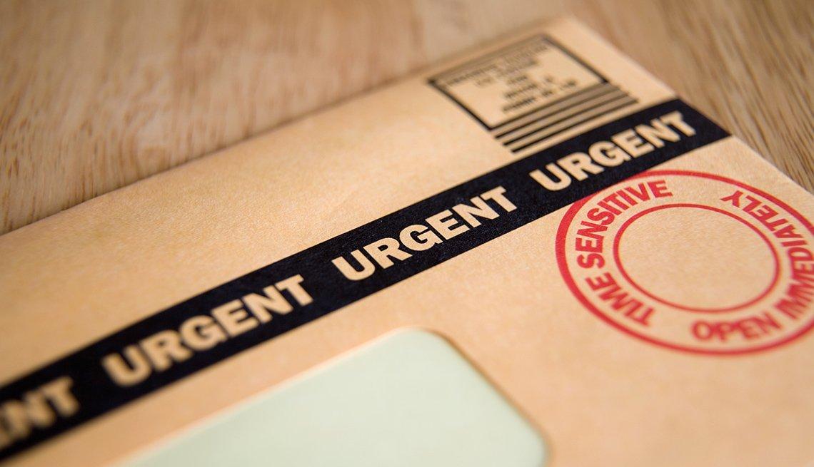 Urgent, Time Sensitive, Junk mail