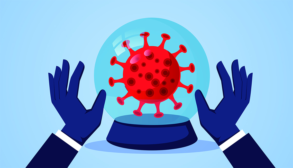 Coronavirus crystal ball