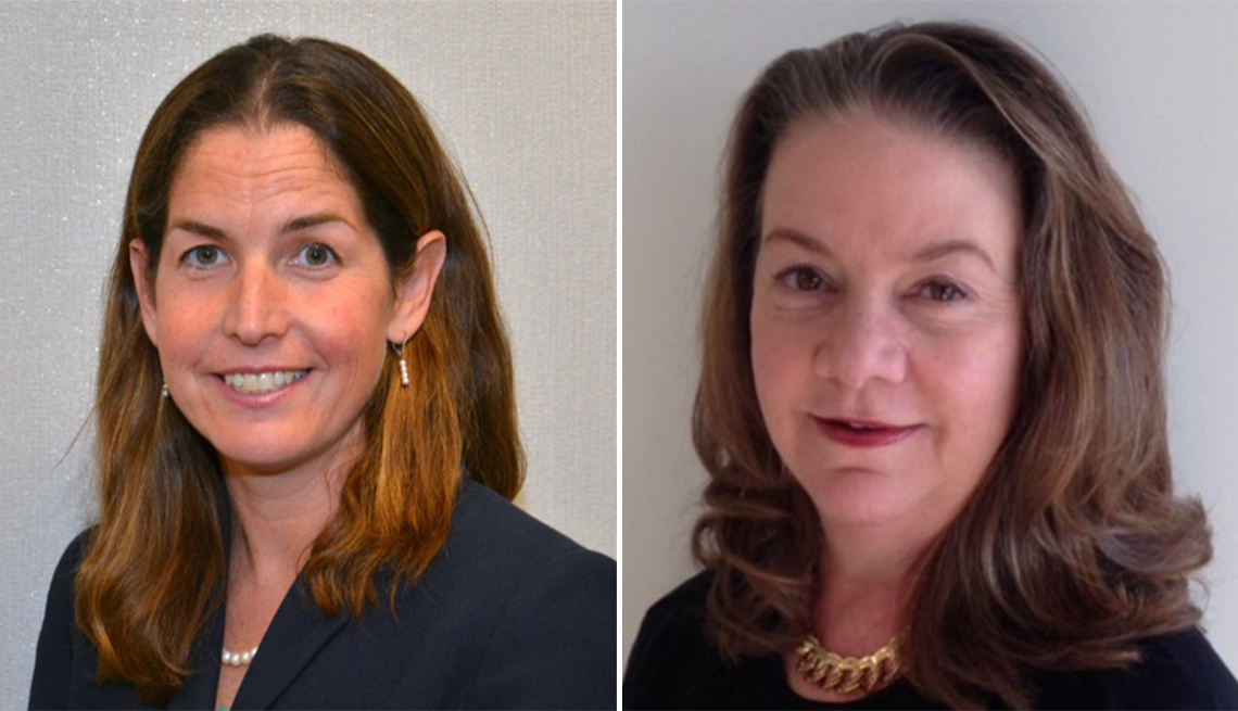 Fraud experts Colleen Tressler, FTC (left) and Lisa Weintraub Schifferle, CFPB (right)