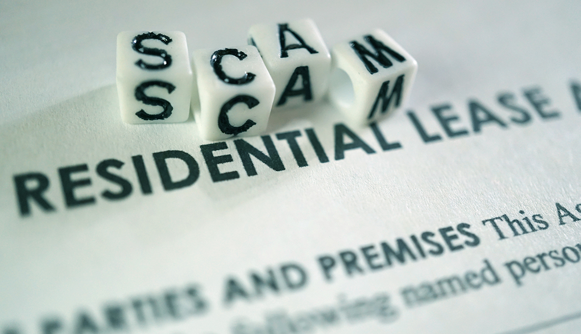 Scam Residential Lease concept