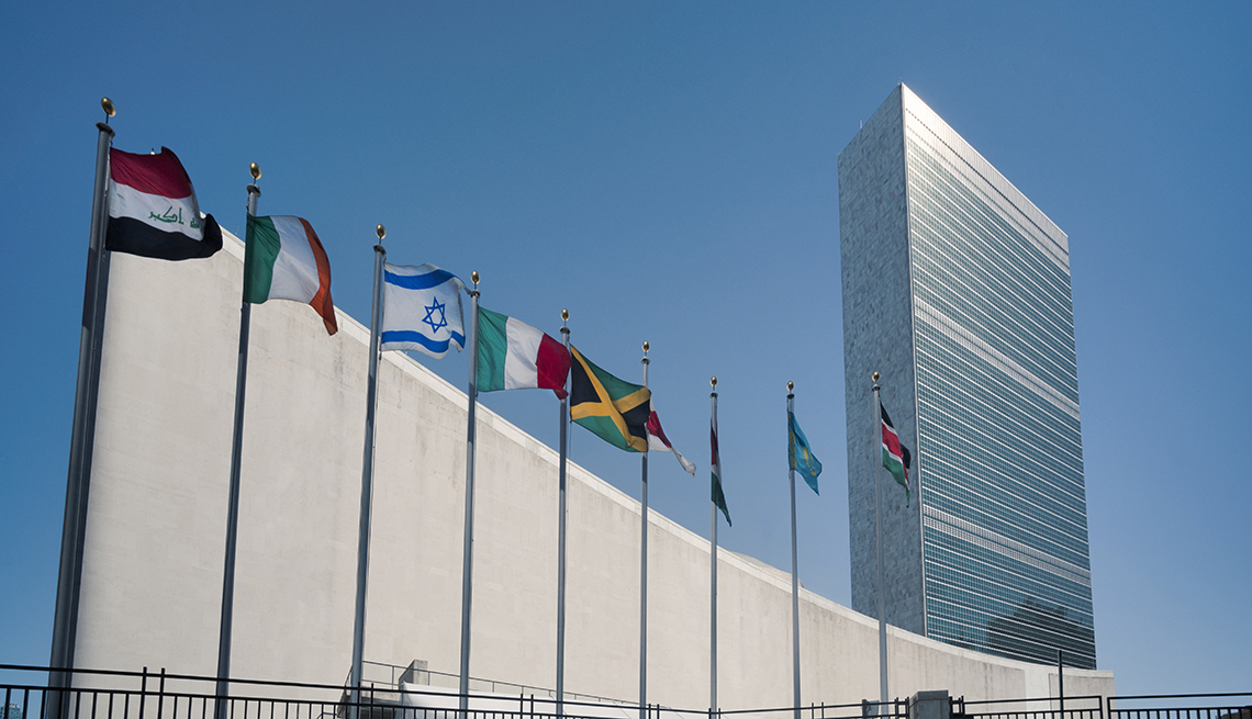 Edificio de las Naciones Unidas en Nueva York
