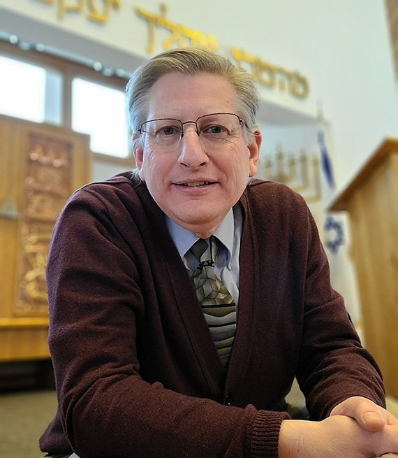 Rabbi Daniel Aronson, 56