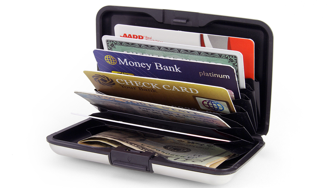 Credit card holder - hard shell