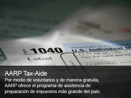 AARP Asistencia en los impuestos