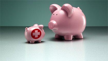 Alcancias rosadas - Reduzca sus gastos médicos a través de menores impuestos