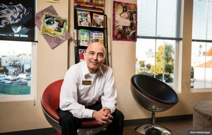 Pete Villaseñor, voluntario de la fundación de AARP