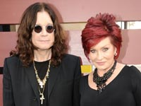 Musician Ozzy Osbourne and wife Sharon Osbourne