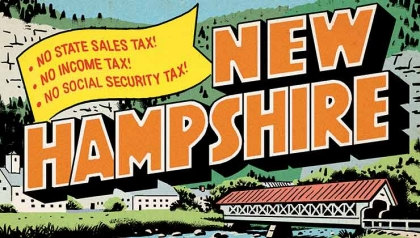 tax havens alaska new hampshire postcard