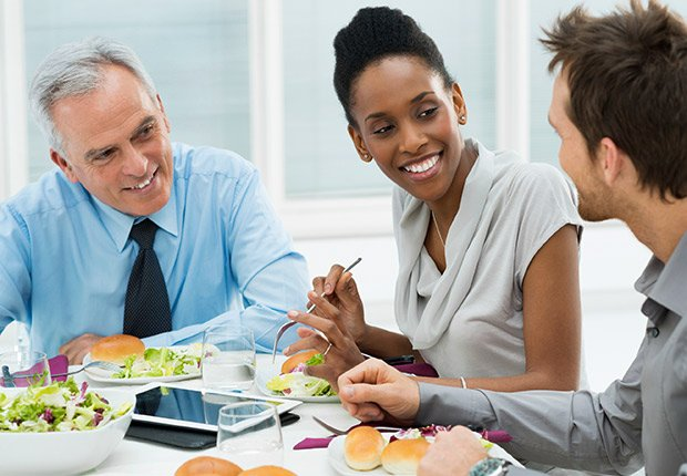 Writing off job hunt expenses, Business Meals