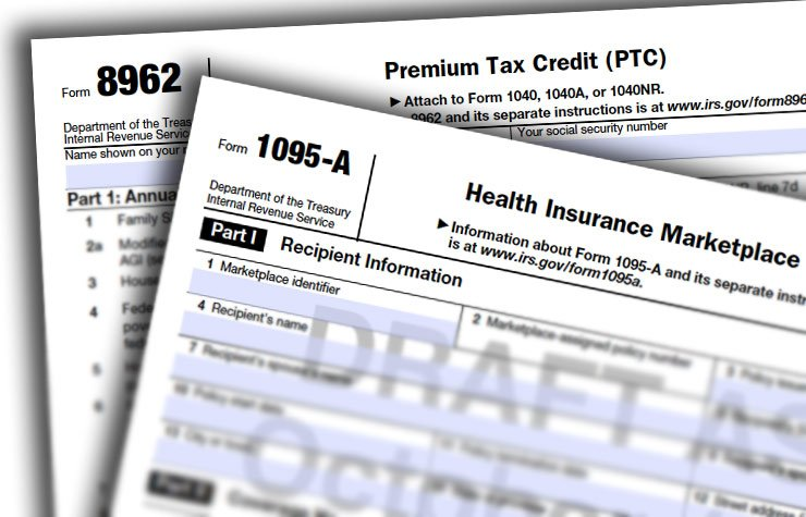 Tax changes for your 2014 return, Forms 1095-A and Form 8962
