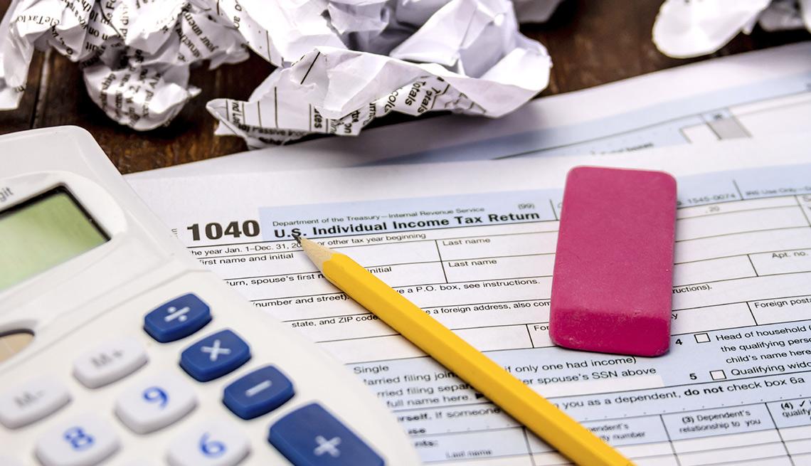Formulario de impuestos