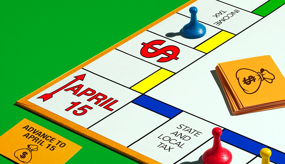Tablero del juego de mesa Monopolio