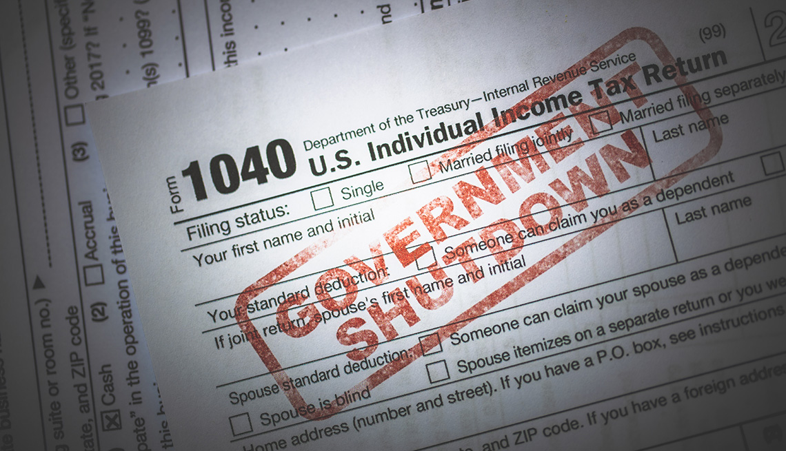 What the Government Shutdown Means for IRS, Taxes