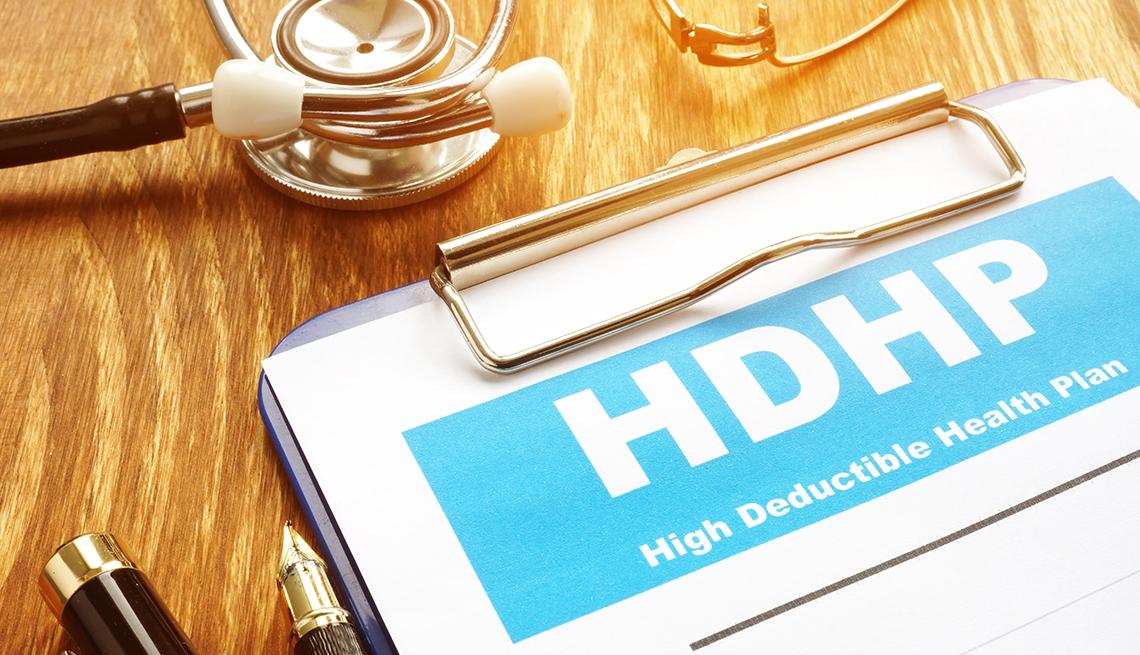 Formulario de HDHP, plan de salud con deducible alto.