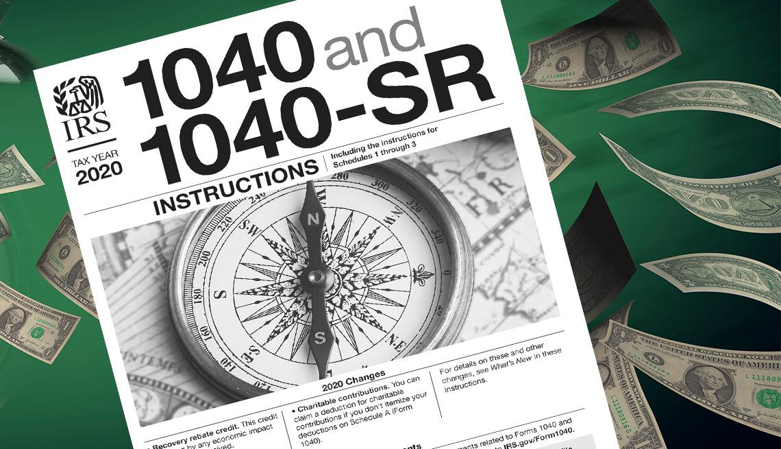 Instrucciones del IRS para reclamar el estímulo en los impuestos del 2020 sobre líneas hechas con dólares