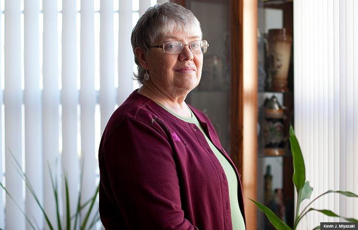 Judith Joslin-Crary at home, Wisconsin State News regarding Senior Care