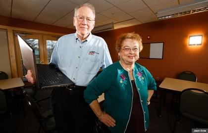 Tom Ligon Phyllis Sonnenschein, Massachusetts AARP Foundation Tax-Aide