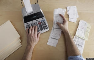 Tax reform calculator receipts adding machine time for code