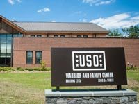 USO Warrior and Family Care Center at Fort Belvoir opened February 5, 2013. (Cherie Cullen/USO)
