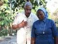 Barry Rand con la hermana Claudetter visita a Haiti